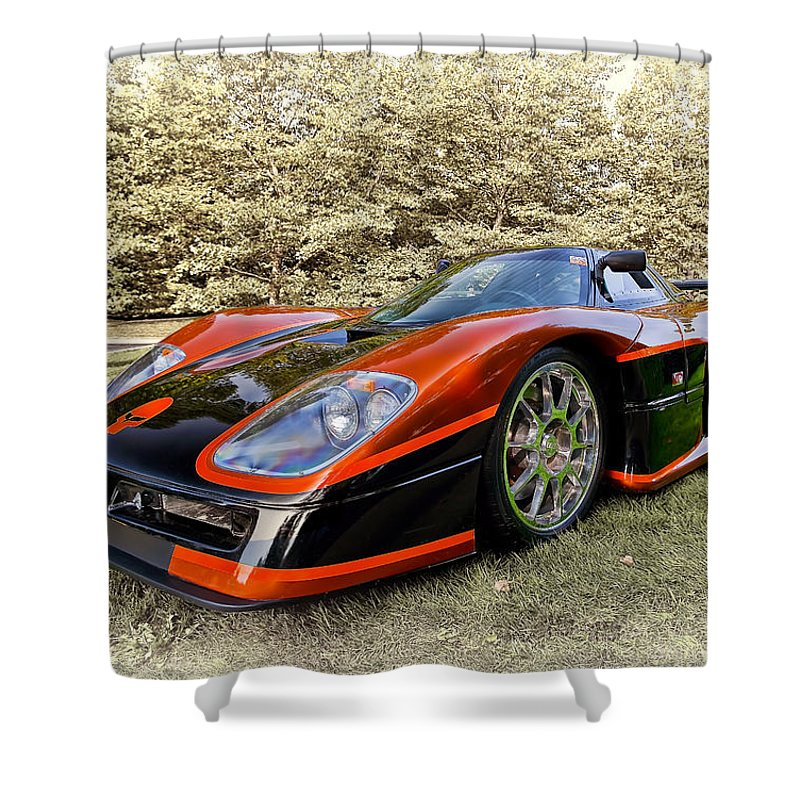 Transportation Shower Curtain featuring the photograph 2007 Mongoose by Marcia Colelli