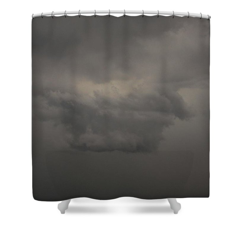 Stormscape Shower Curtain featuring the photograph Let The Storm Season Begin by NebraskaSC
