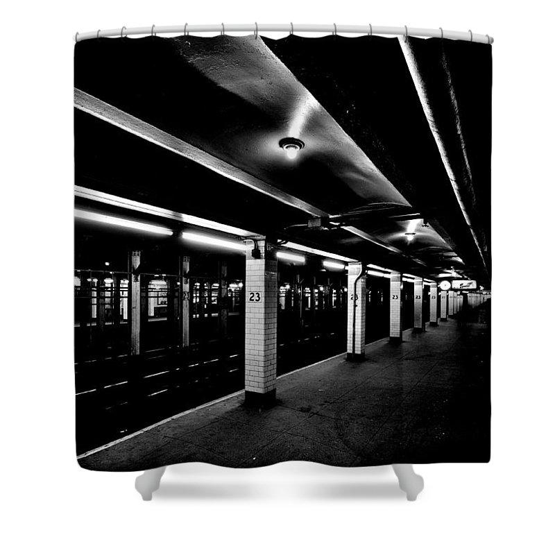 London Tube Shower Curtains