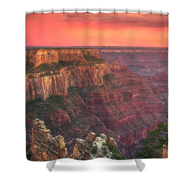 Tranquility Shower Curtain featuring the photograph Grand Canyon National Park by Michele Falzone