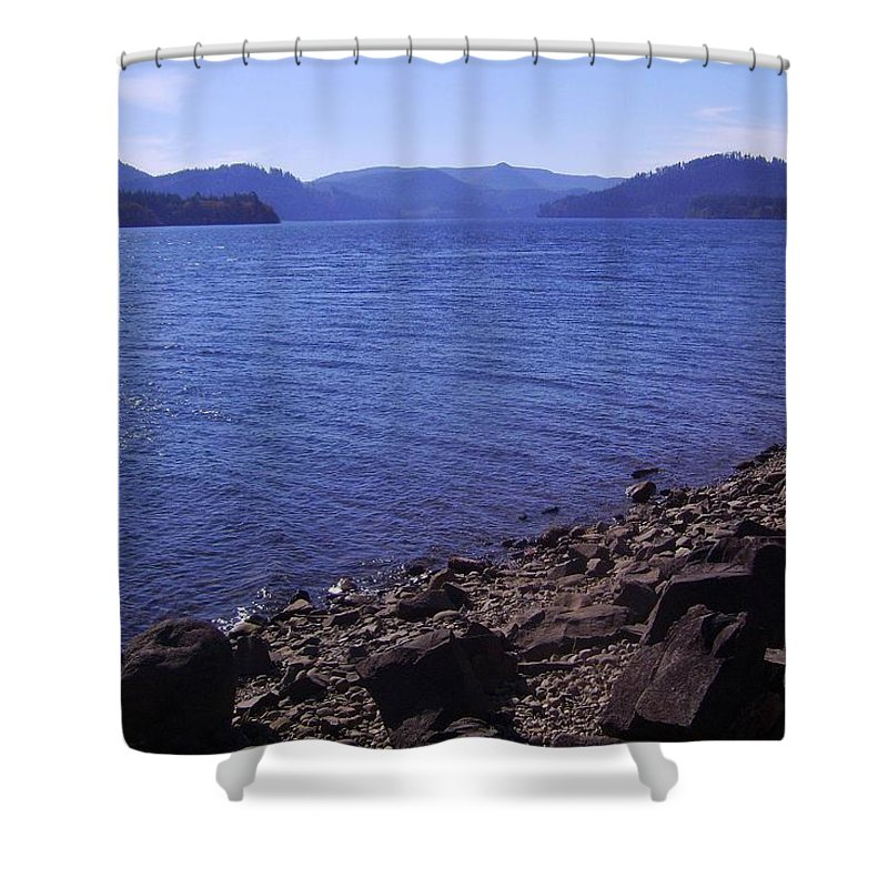 Bloom Shower Curtain featuring the photograph Lakes 2 by J D Owen