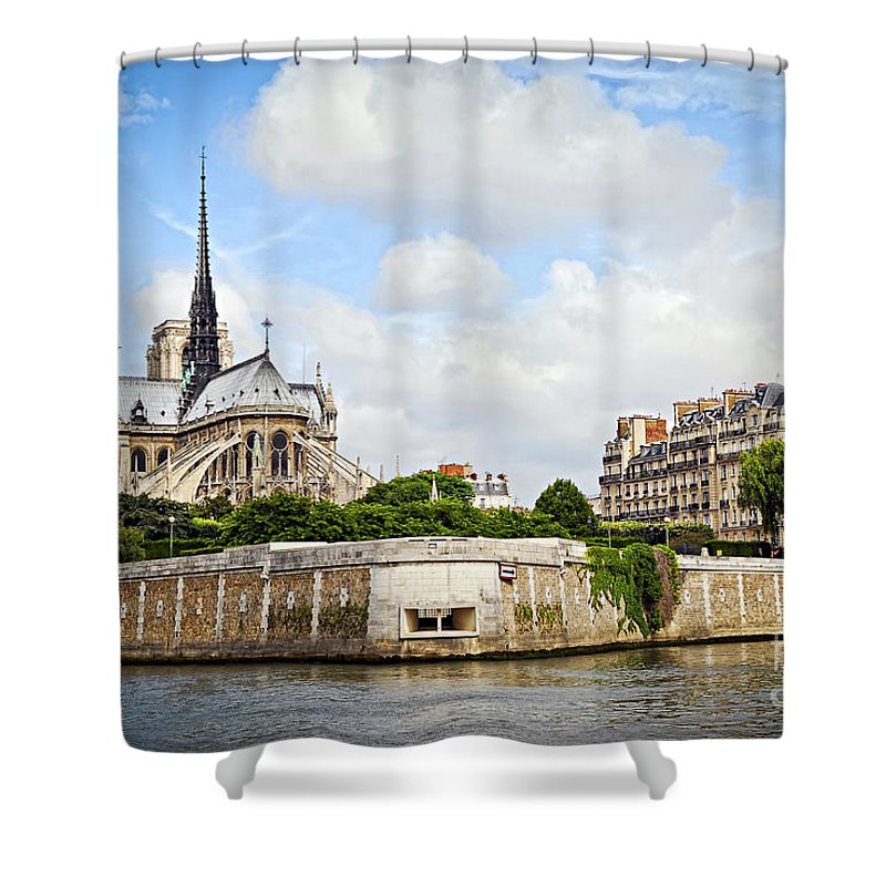 Notre Dame Shower Curtains