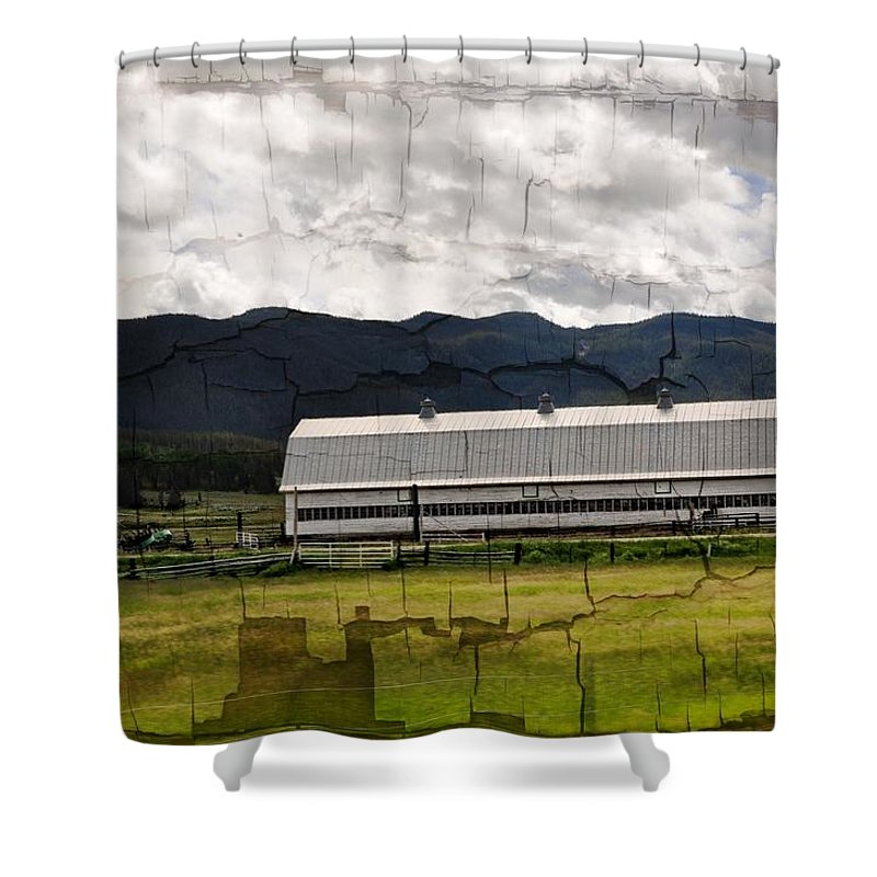Barn Shower Curtain featuring the photograph Oregon by Image Takers Photography LLC