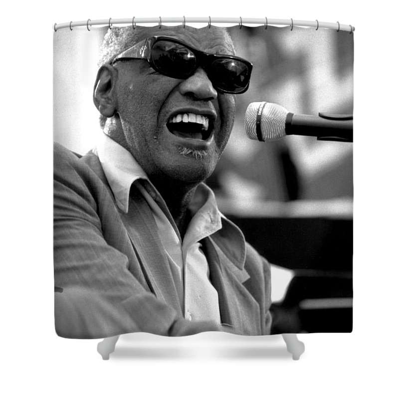 Rhythm And Blues Shower Curtains