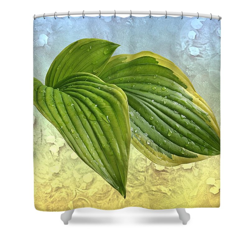Wellness Shower Curtain featuring the photograph Wellness by Manfred Lutzius