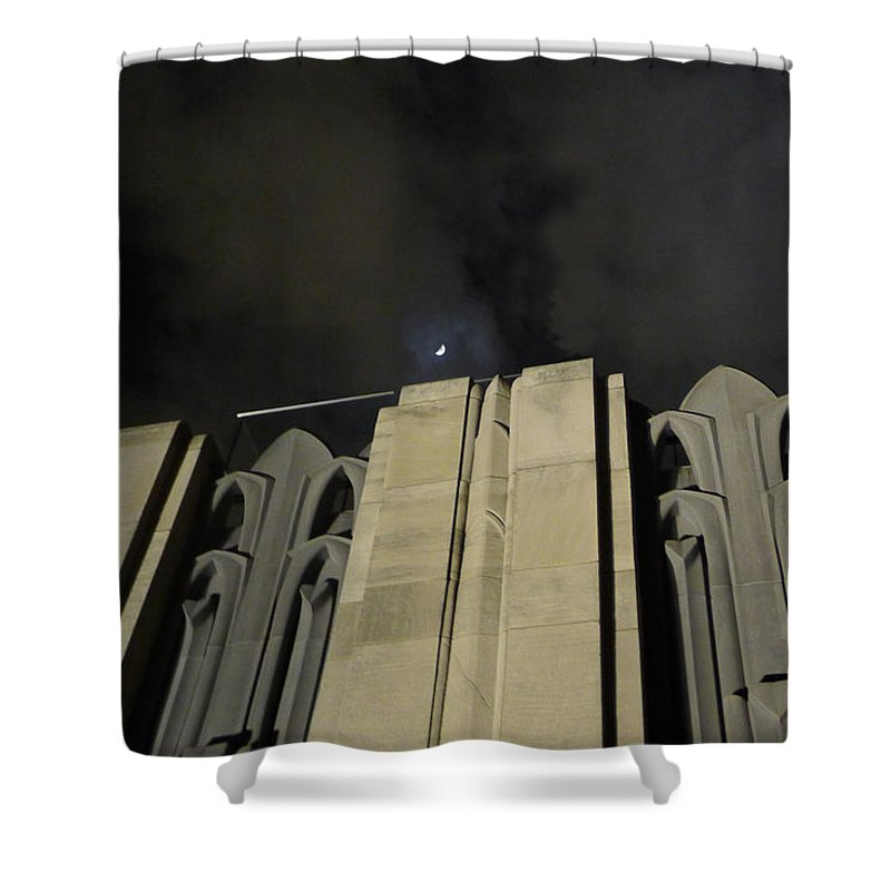 30 Rock Shower Curtain featuring the photograph 30 Rock Gothic 2 by Richard Reeve