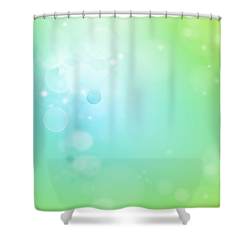 Abstract Shower Curtain featuring the photograph Abstract Background by Les Cunliffe