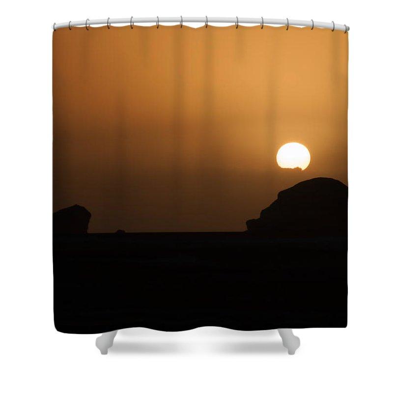 Egypt Desert Shower Curtain featuring the digital art White Desert by Carol Ailles