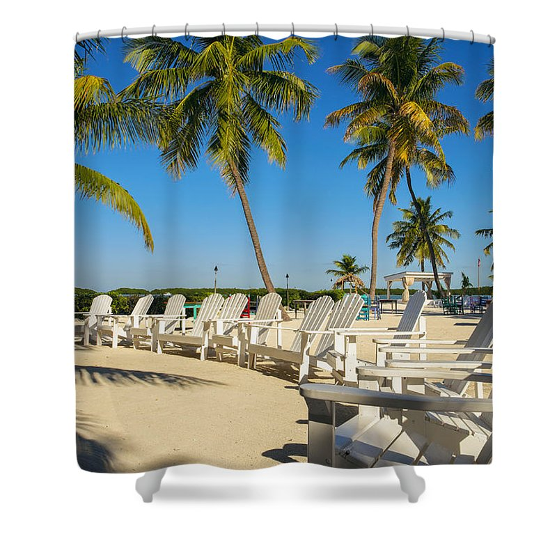 Bay Shore Shower Curtain featuring the photograph Florida Keys by Raul Rodriguez