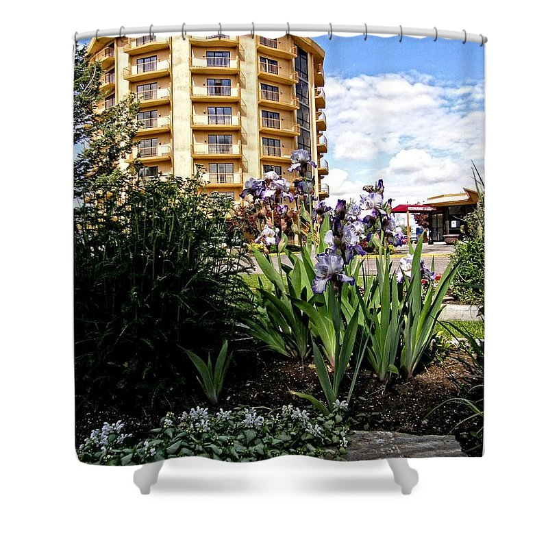 Idaho Falls Shower Curtain featuring the photograph Idaho Falls by Image Takers Photography LLC