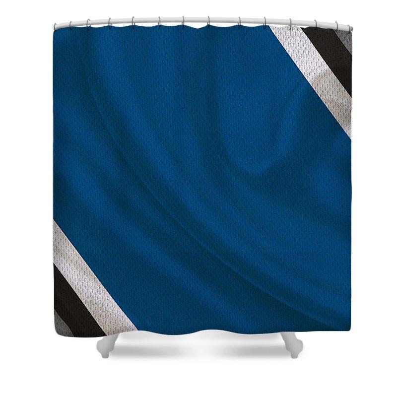 Lions Shower Curtain featuring the photograph Detroit Lions by Joe Hamilton