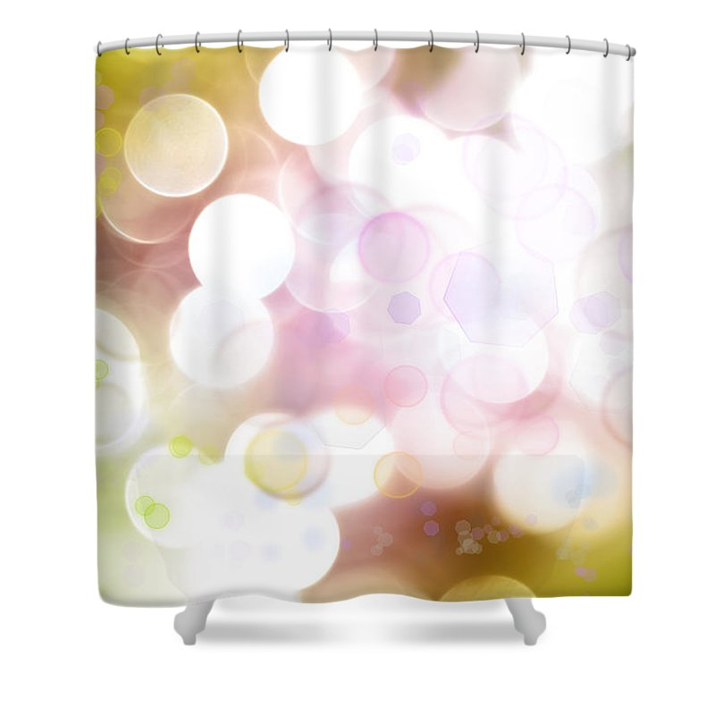 Illustration Shower Curtain featuring the photograph Abstract Background by Les Cunliffe