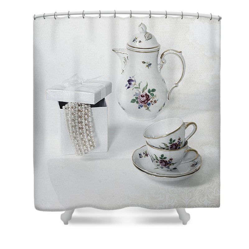 Coffee Shower Curtain featuring the photograph Coffee Time by Joana Kruse