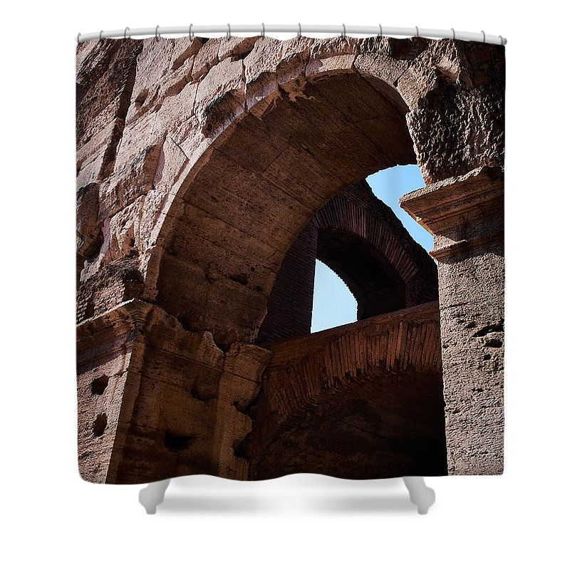 2013. Shower Curtain featuring the photograph Colosseum by Jouko Lehto