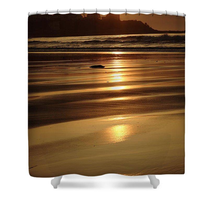Atlantic Ocean Shower Curtain featuring the photograph Hampton Beach New Hampshire Usa by Erin Paul Donovan