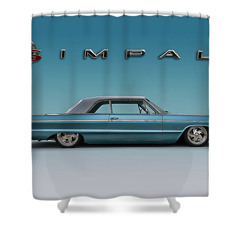 64 Impala Ss Shower Curtain For Sale By Douglas Pittman