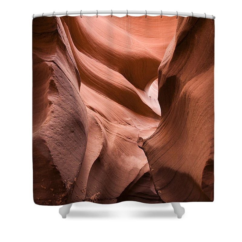 Antelope Canyon Shower Curtain featuring the photograph Antelope Canyon by Milena Boeva