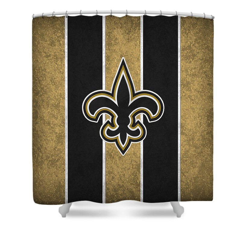Saints Shower Curtain Featuring The Photograph New Orleans By Joe Hamilton