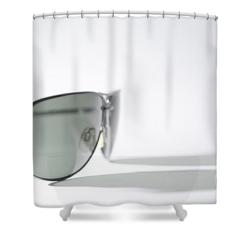 Sunglasses Shower Curtain featuring the photograph Sunglasses by Mats Silvan