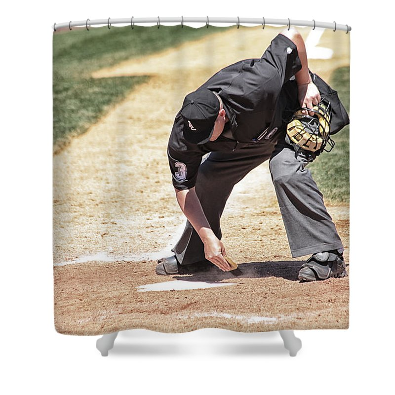 Sports Shower Curtain featuring the photograph A Clean Home by Karol Livote