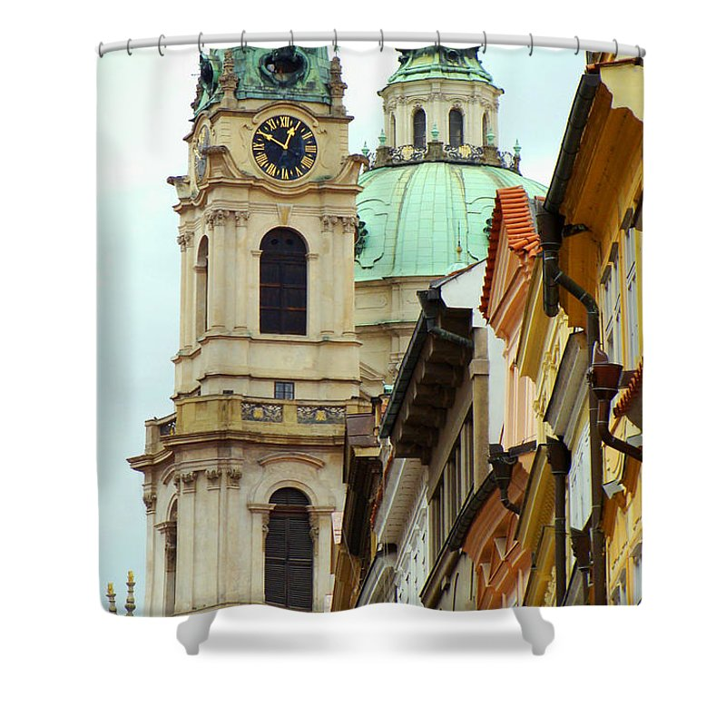 Prague Views Shower Curtain featuring the photograph A Day In Prague by Ira Shander