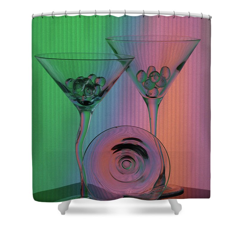 Dry Martini Shower Curtain featuring the photograph A Dry Martini by Mike Martin