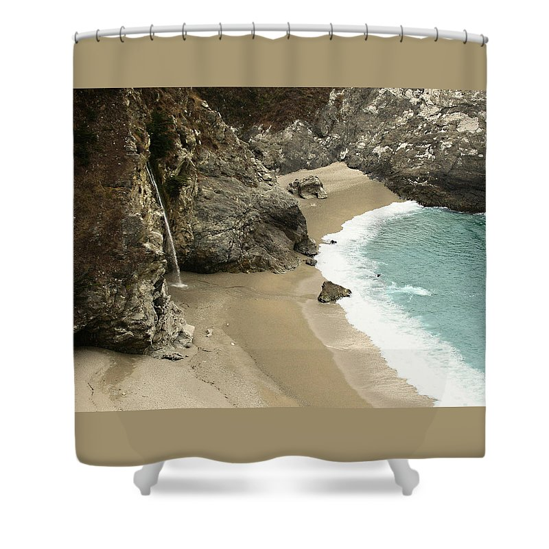 A Secret Place Shower Curtain featuring the photograph A Secret Place by Ellen Henneke