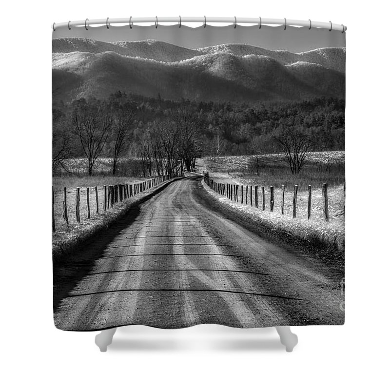 Smoky Mountains Shower Curtain featuring the photograph A Special Morning by Michael Eingle