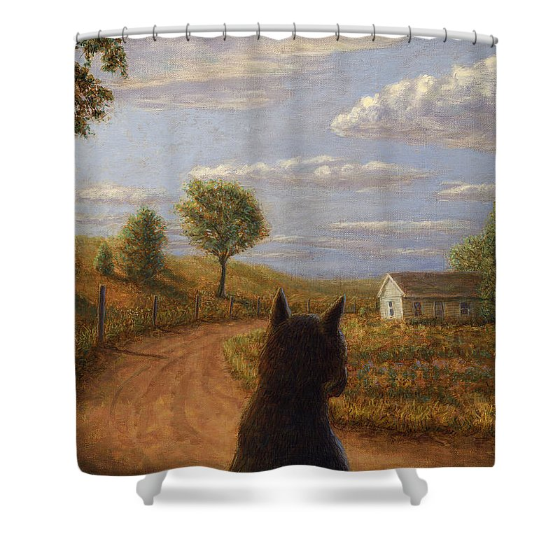 Abandoned House Shower Curtains