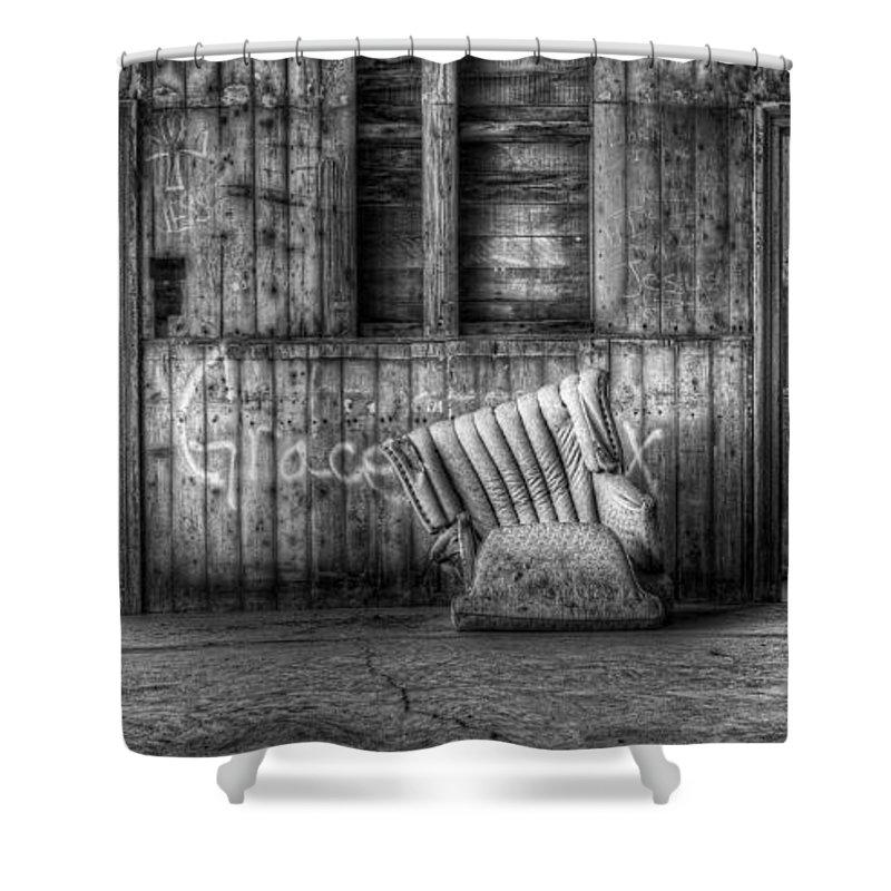 Hdr Shower Curtain featuring the photograph Grace by Scott Norris