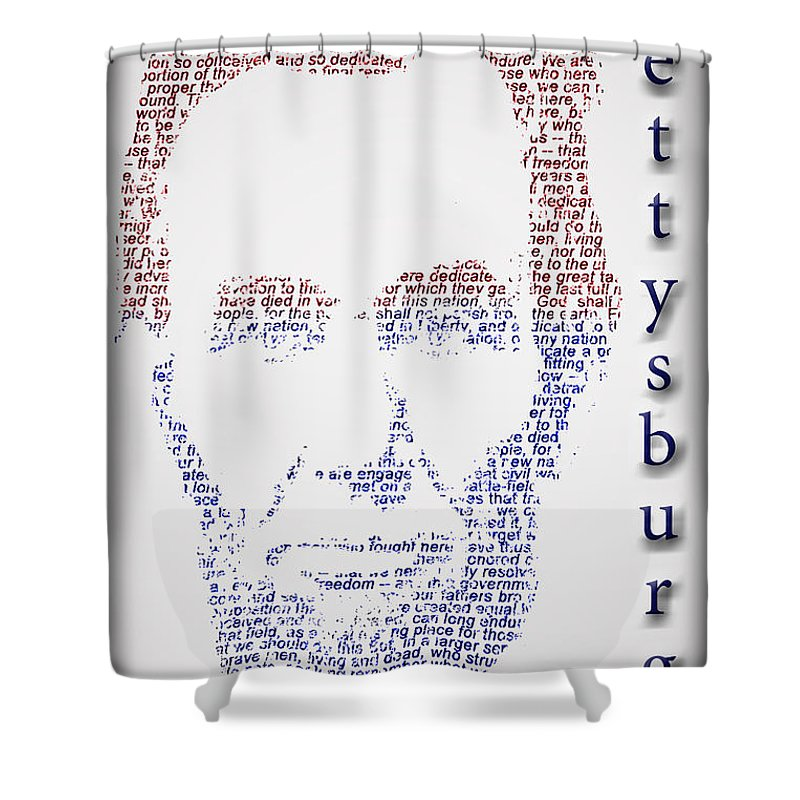 Usa Shower Curtain featuring the photograph Abraham Lincoln by Gary Keesler