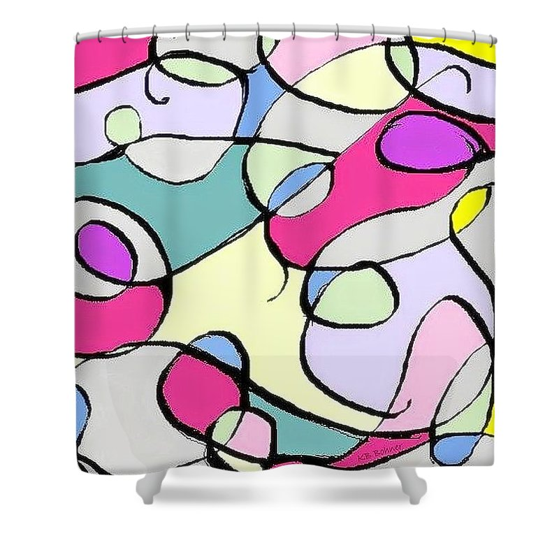 Abstract Shower Curtain featuring the photograph Abstract 2 by Kevin B Bohner