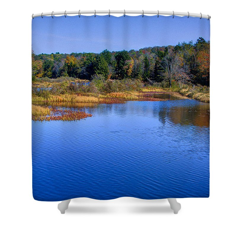 Adirondack's Shower Curtain featuring the photograph Adirondack Color Vii by David Patterson