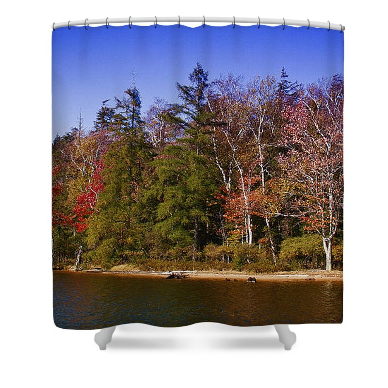 Adirondack's Shower Curtain featuring the photograph Adirondack Color Xi by David Patterson