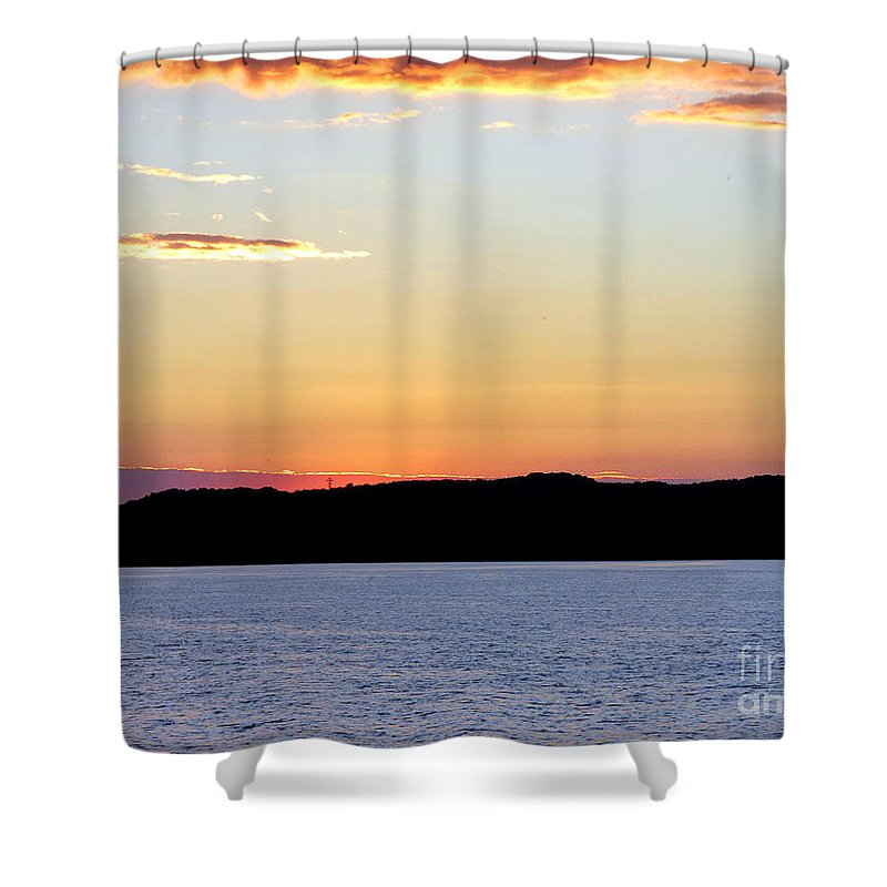 Landscape Shower Curtain featuring the photograph After Sundown by Rennae Christman