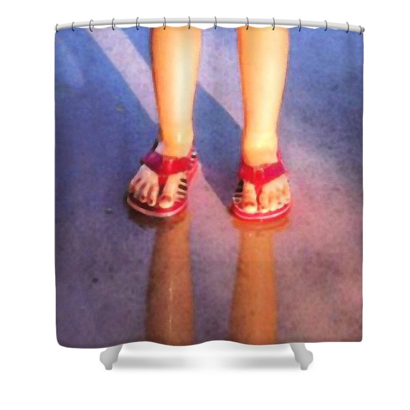 Child Shower Curtain featuring the photograph After The Rain by Cristophers Dream Artistry