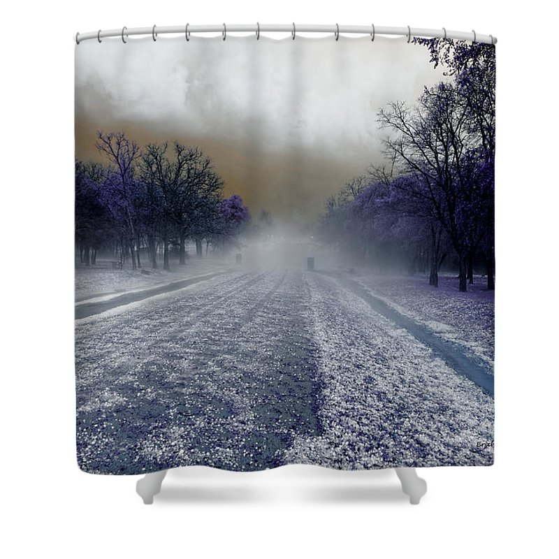 Texas Shower Curtain featuring the photograph After The Storm by Erich Grant