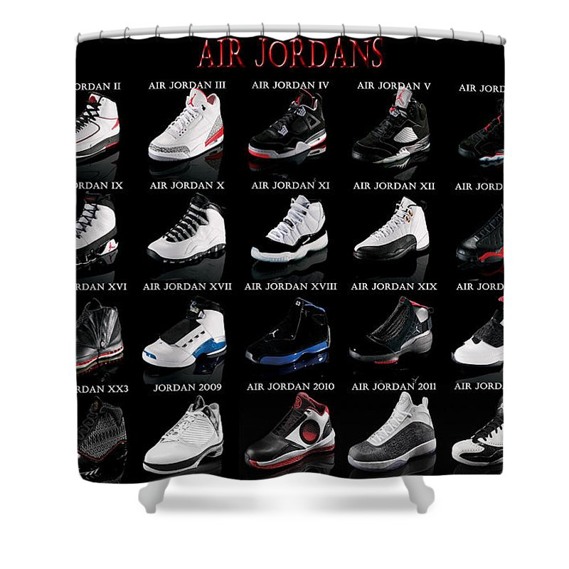 Michael Jordan Shower Curtains
