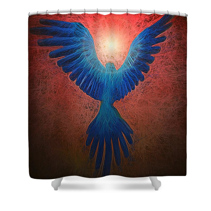 Bird Shower Curtain featuring the photograph All Gods Creations Have Souls by Shannon Story