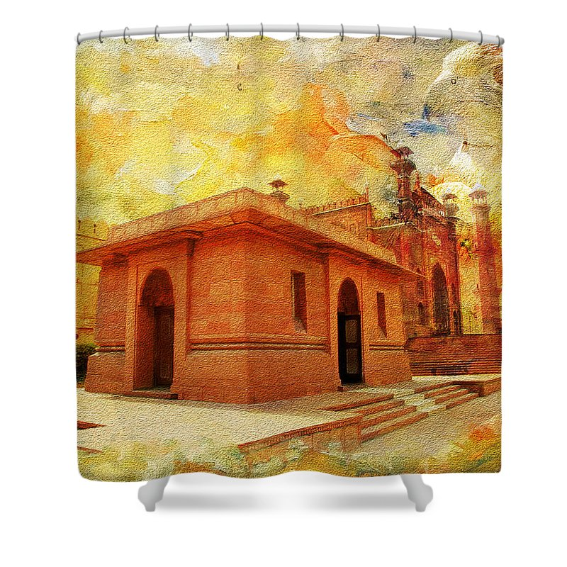 Allama Iqbal Tomb Shower Curtain For Sale By Catf