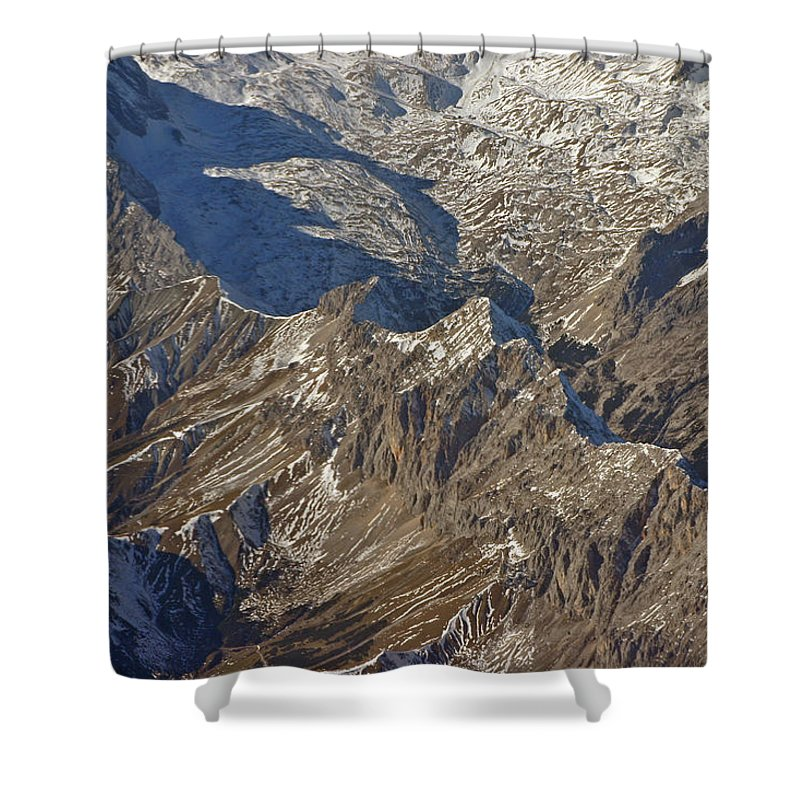 Austria Shower Curtain featuring the photograph Alps - The Bowl by David Rucker