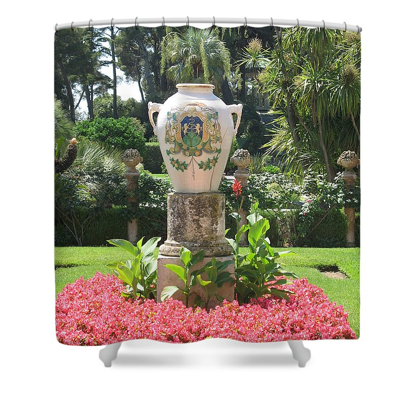 Amphora Shower Curtain featuring the photograph Amphora by Christiane Schulze Art And Photography
