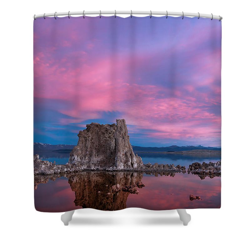 Mono Lake Shower Curtain featuring the photograph Angel Wings by Kathleen Bishop