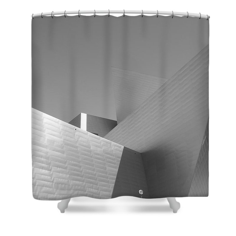 Angles Shower Curtain featuring the photograph Angles by Barbara Bardzik