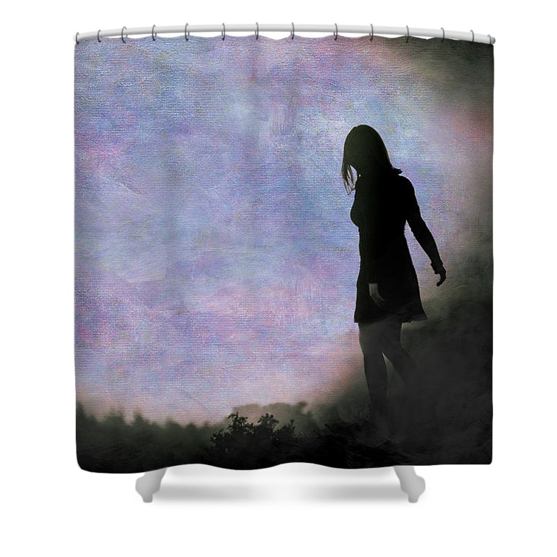 Loriental Shower Curtain featuring the photograph Another World by Loriental Photography