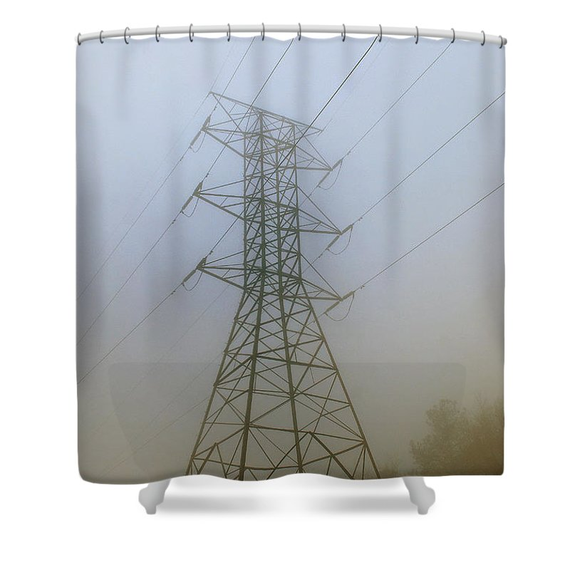 Scenic Tours Shower Curtain featuring the photograph Aorta by Skip Willits