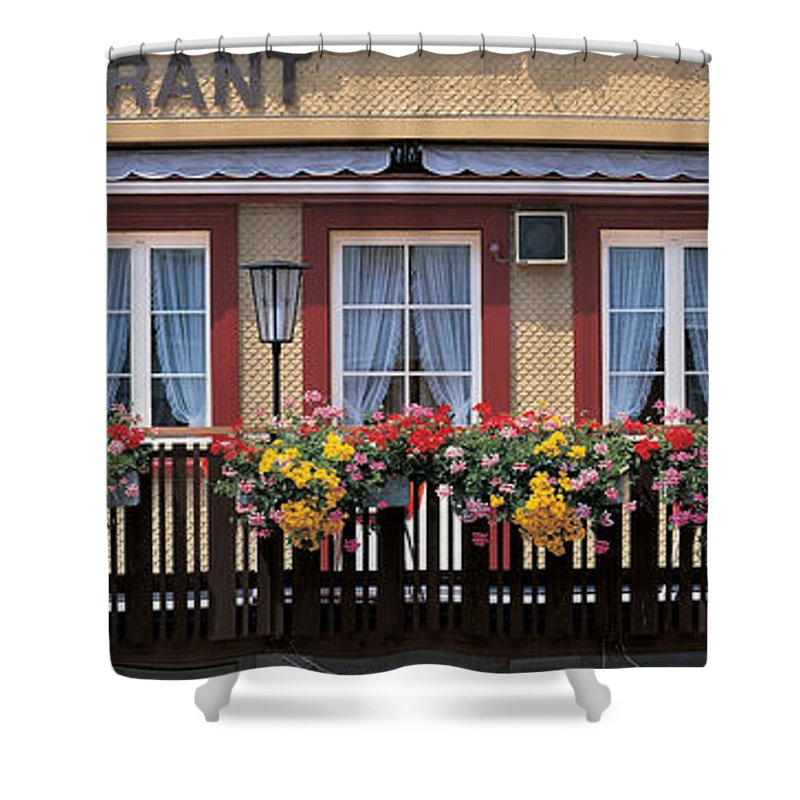 Photography Shower Curtain featuring the photograph Appenzell Switzerland by Panoramic Images
