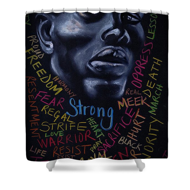 Beautiful Shower Curtain featuring the photograph Appreciate Your Past- Look to the Future by Artist RiA