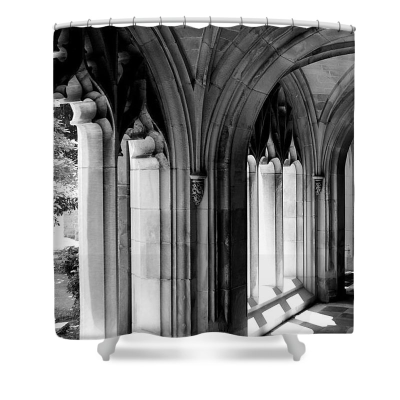 Mason Shower Curtain featuring the photograph Arches by Leeon Photo