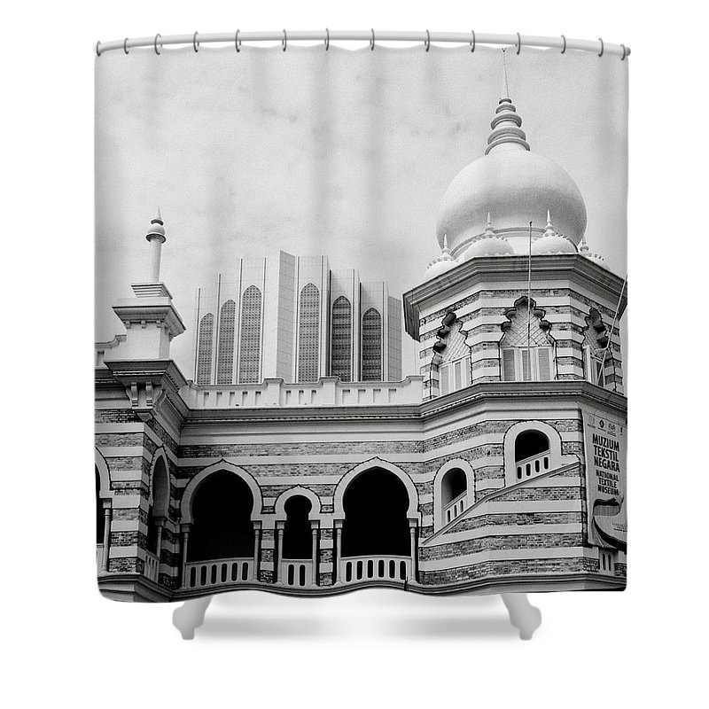 National Shower Curtain featuring the photograph Architecture by Shaun Higson